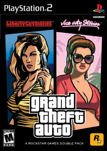 GTA Liberty City Stories & Vice City Stories Double Pack