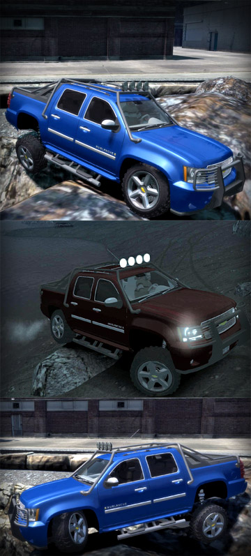 Chevrolet Avalanche 4x4 Truck