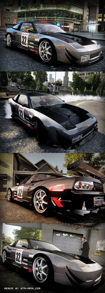 Nissan 240SX The Spirit Of Eagle