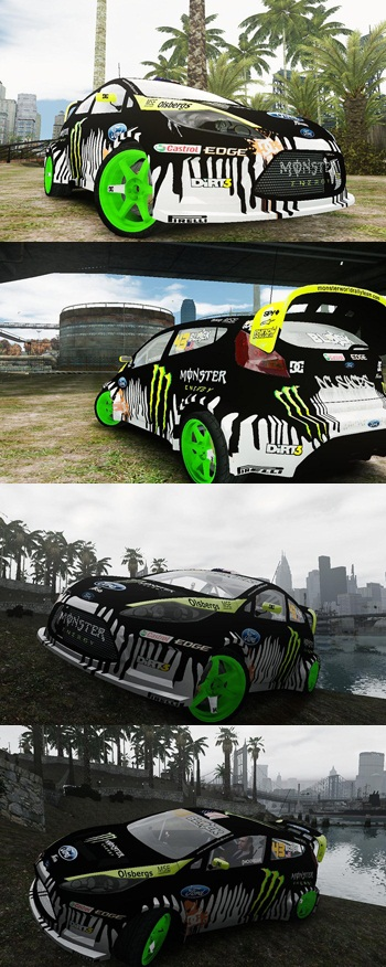 Ken Block Ford Fiesta 2011
