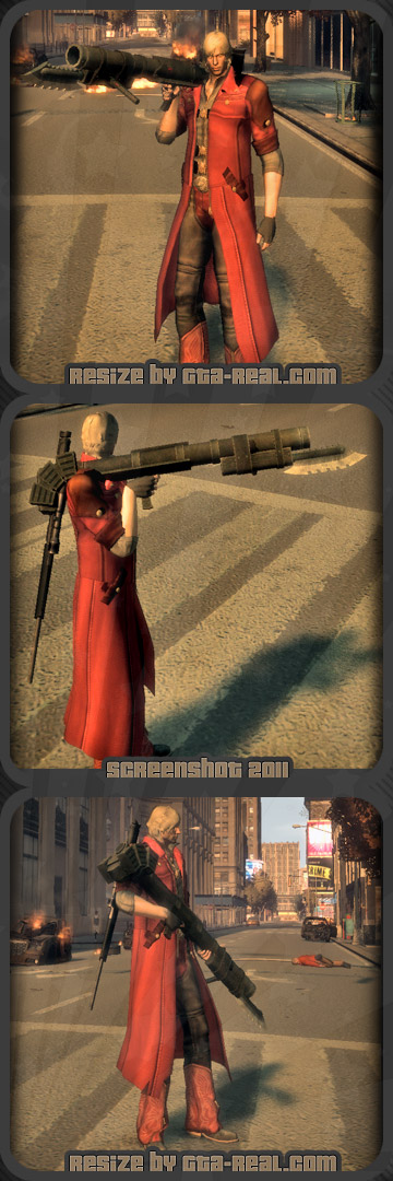 Lady's Weapon (Devil May Cry)