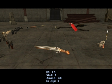 3D Weapons Inventory