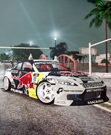 Mazda RX8 RedBull Mad Mike's