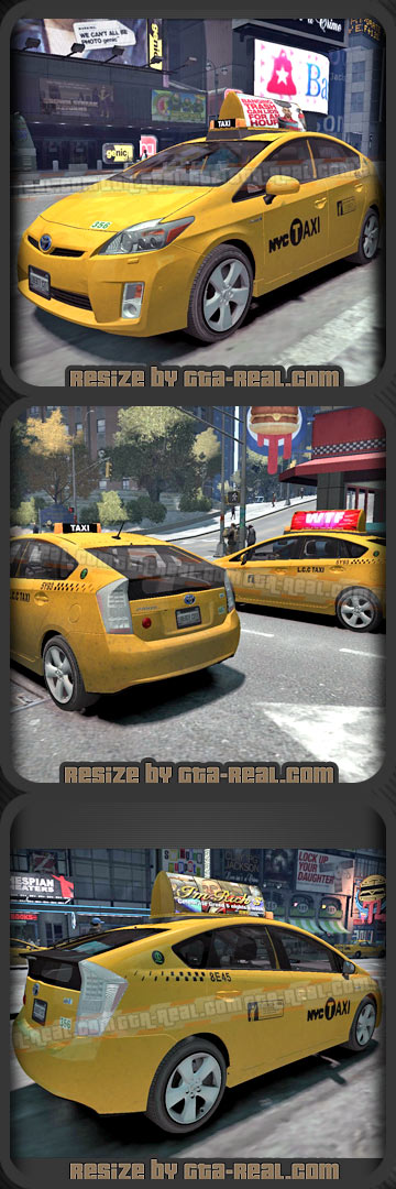 Toyota Prius NYC & LCC Taxi