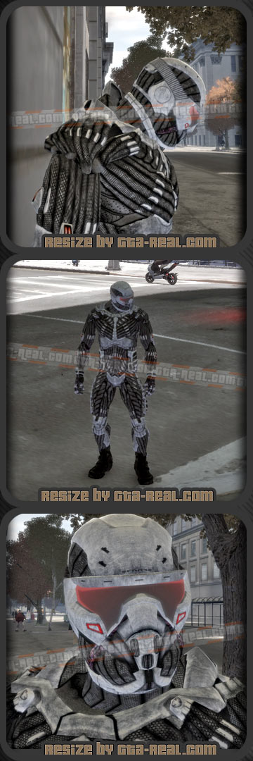 Crysis Nanosuit Extremely Detailed