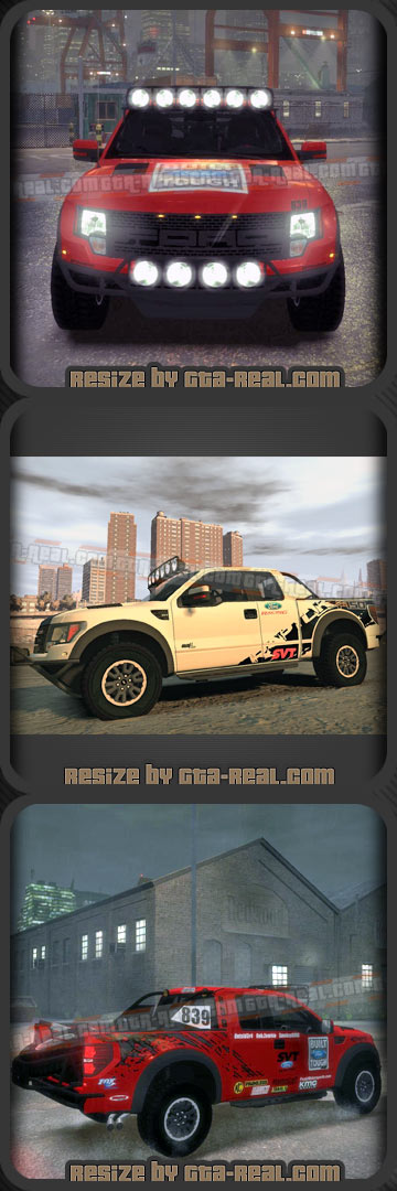 Ford Racing Raptor XT 2011