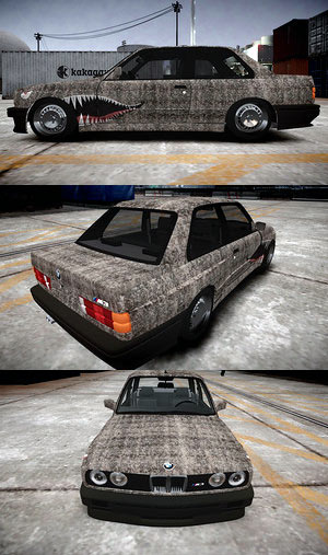 BMW M3 E30 Rat look style