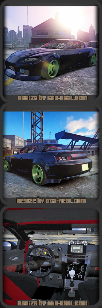 Mazda RX-8 Mad Mike Stock