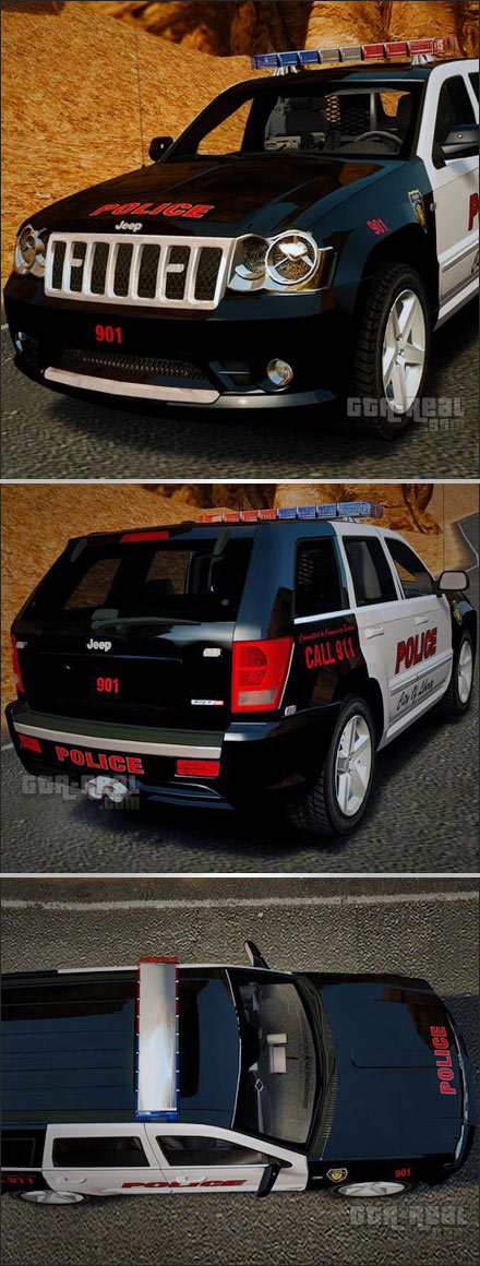 Jeep Grand Cherokee SRT8 Police