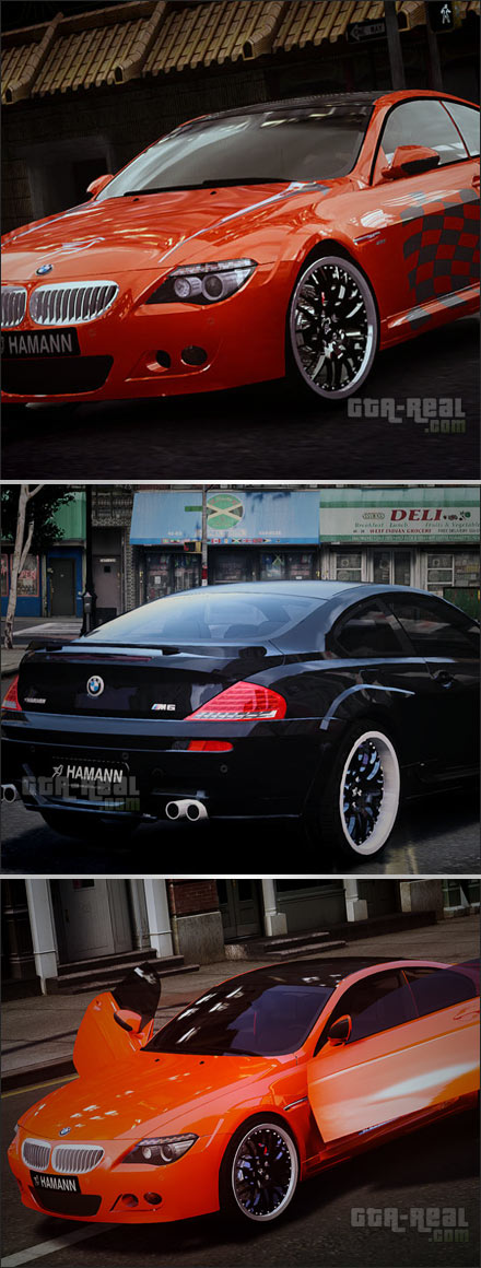 BMW 6 Hamann Widebody