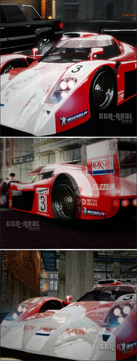 Toyota GT One Le mans