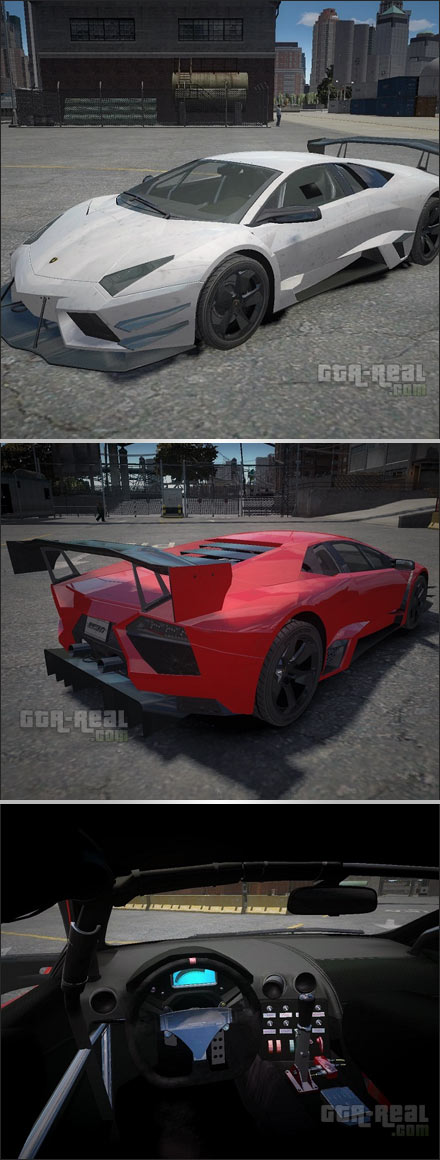 Lamborghini Reventon Body Kit