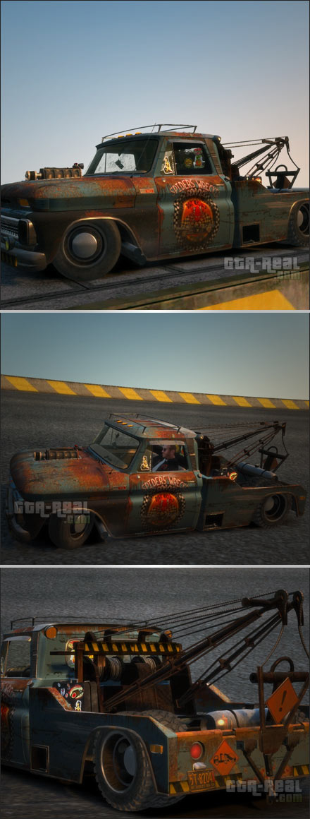 Chevrolet Tow-Truck Rusty
