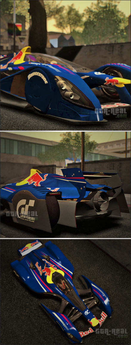 Red Bull X1 Concept 2010