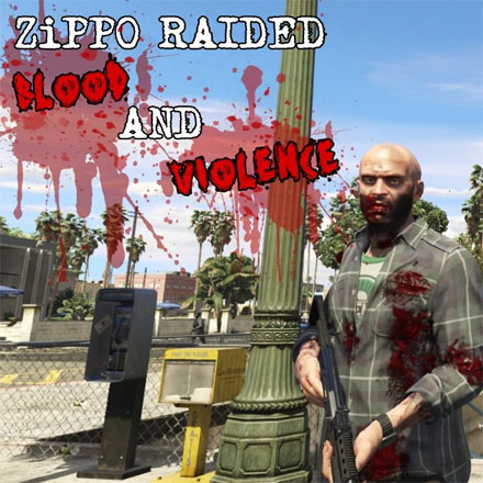 Raided Blood & Violence