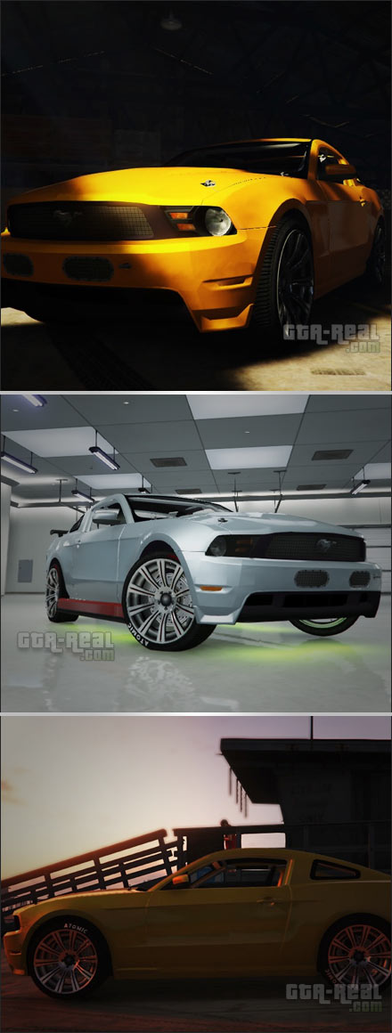 Ford Mustang 302 Boss 2012