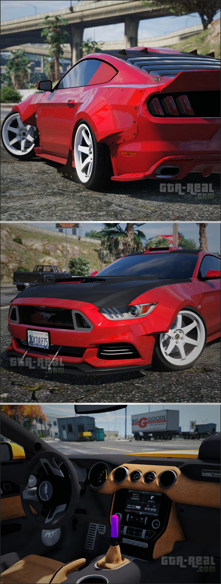 Ford Mustang GT Wide Body