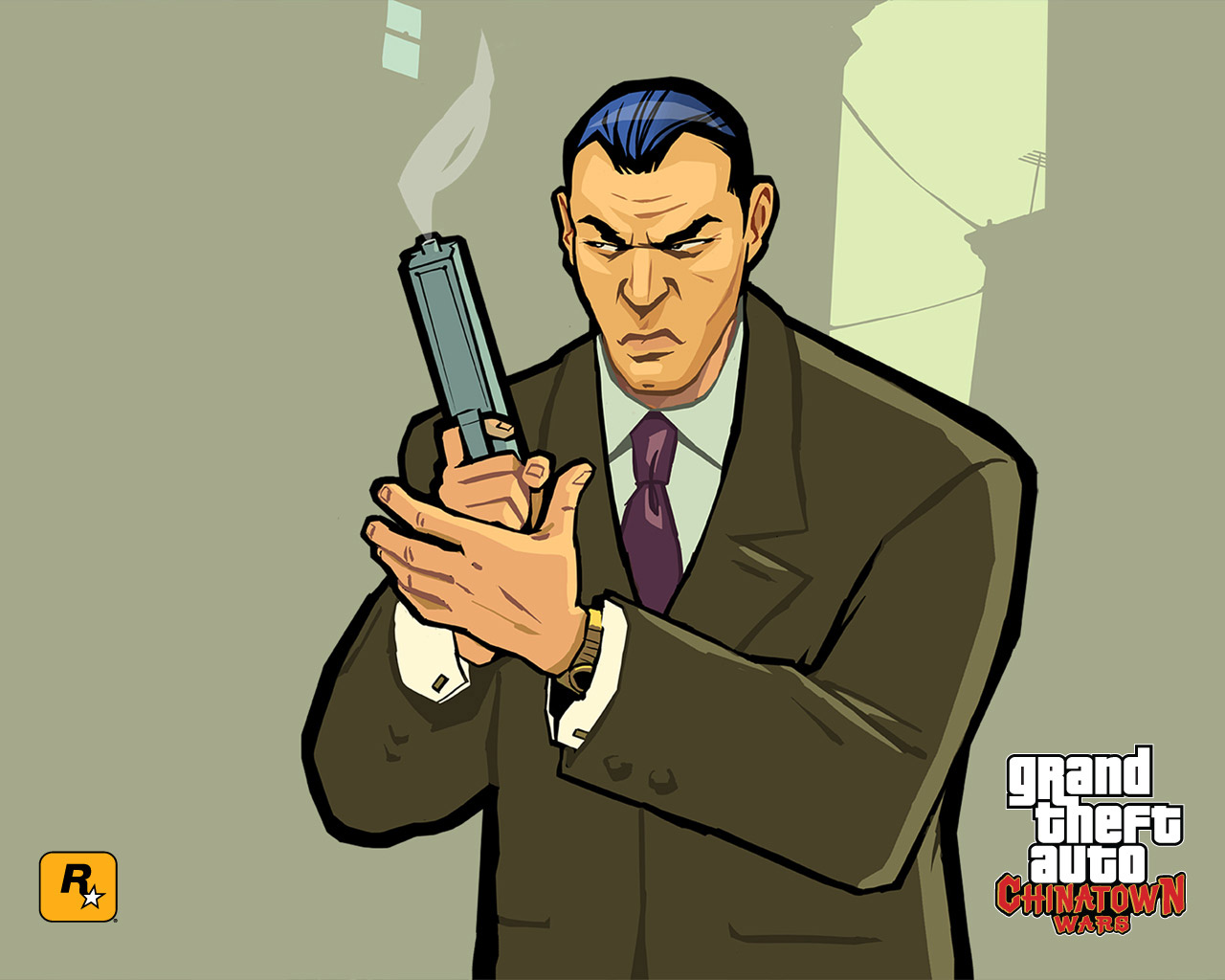 Кенни У из GTA Chinatown Wars