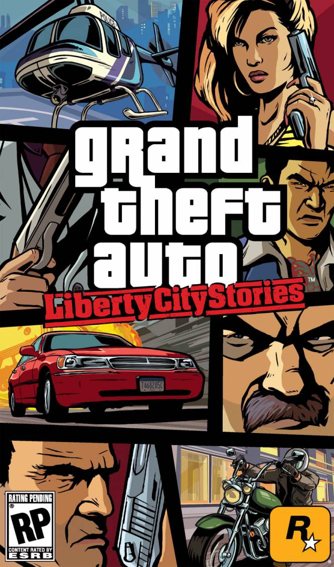 Обложка GTA Liberty City Stories